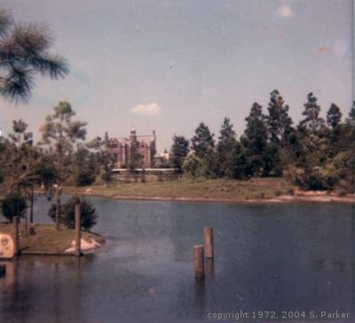 View of Haunted Mansion