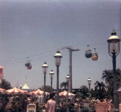 Sky Carts over Fantasyland